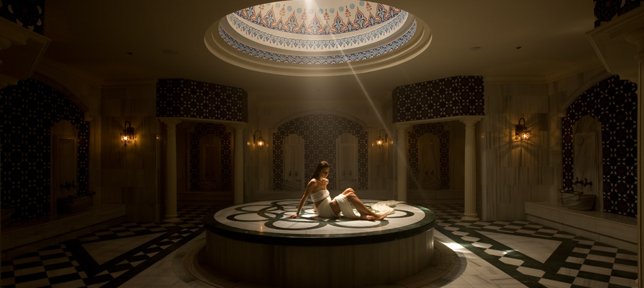 Spa the Turkish bath